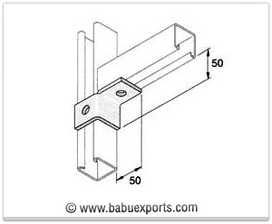 strut channel brackets bracketry manufacturers exporters india
