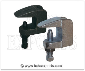 strut channel Flange Beam Clamps manufacturers exporters india