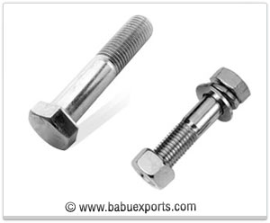 Hex -Bolts fasteners manufacturers exporters india
