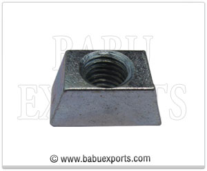 strut channel wedge nut manufacturers exporters india
