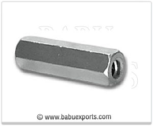 strut channel rod connector coupling nut manufacturers exporters india