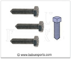 strut channel cone pointed screws manufacturers exporters india