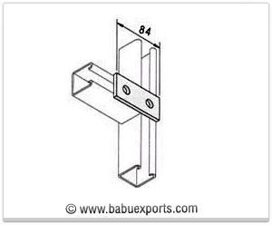 2 Hole Straight Mending Plate strut channel brackets bracketry manufacturers exporters india