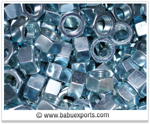Hex Nuts fasteners manufacturers exporters india