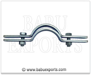 Pipe Clamp with Bolts & Nuts manufacturers exporters india