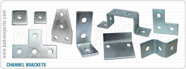 strut channel brackets bracketry manufacturers exporters suppliers india
