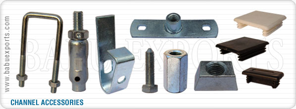 strut channel accessories manufacturers exporters suppliers india